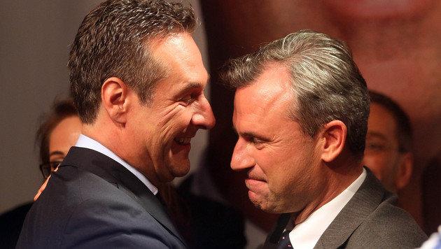 """""""Seid nicht verzagt"""" - das sagen die Verlierer (Bild: Associated Press)"""