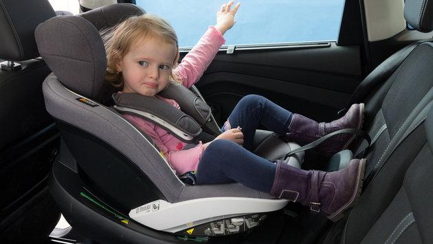 """Der gro�e Kindersitztest: Nur einer """"sehr gut"""" (Bild: �AMTC)"""