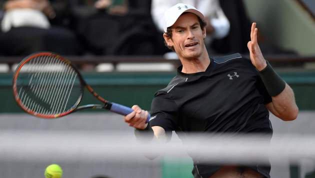 Dunkelheit hält Murray im Turnier - vorerst (Bild: APA/AFP/MIGUEL MEDINA)