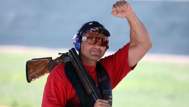 Gold-Schütze verliert nach Suff-Fahrt Waffenlizenz (Bild: AFP)
