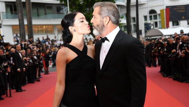 Rosalind Ross und Mel Gibson (Bild: AFP)