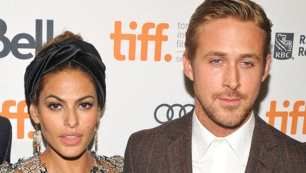 Eva Mendes und Ryan Gosling (Bild: Viennareport)