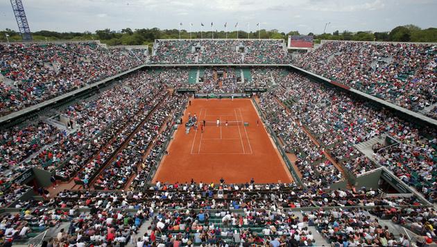 Stark erhöhte Sicherheitsmaßnahmen bei French Open (Bild: AP)