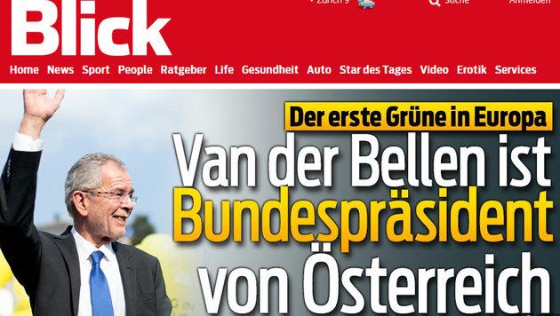 Präsident Van der Bellen: So reagiert das Ausland (Bild: blick.ch)
