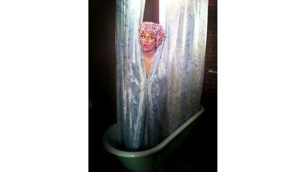 """Etwas züchtiger mag es """"Glee""""-Star Lea Michele unter der Dusche. (Bild: Viennareport)"""