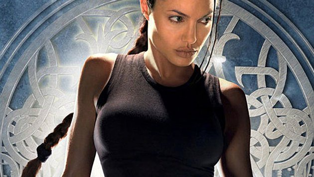 "Angelina Jolie als Lara Croft in ""Tomb Raider"" (Bild: Viennareport)"