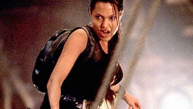 "Angelina Jolie in als Lara Croft in ""Tomb Raider"" (Bild: Viennareport)"