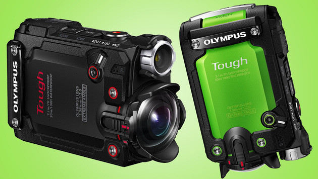 Olympus TG-Tracker: Japaner fordern GoPro heraus (Bild: Olympus, krone.at-Grafik)