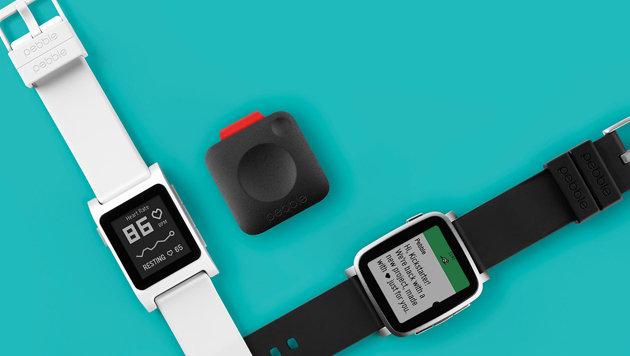Pebble bringt Mini-Modem und neue Smartwatches (Bild: Pebble)