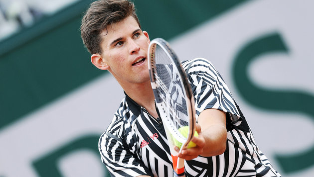 """Zebra"" Thiem galoppiert in 2. French-Open-Runde! (Bild: GEPA)"