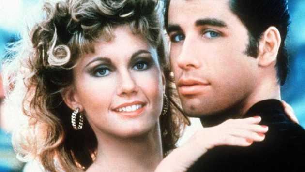 """Olivia Newton-John und John Travolta als Sandy und Danny in """"Grease"""" (Bild: Viennareport)"""