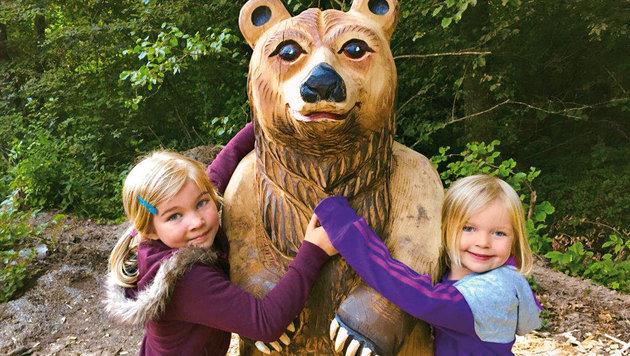 Spaß mit Bär Cancu und Abenteuer in der Natur sind das Motto von Ikuna. (Bild: Ikuna)