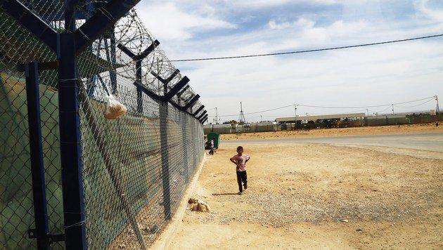 Zaatari - wo Kriegsvertriebene auf Heimkehr hoffen (Bild: Christoph Matzl)