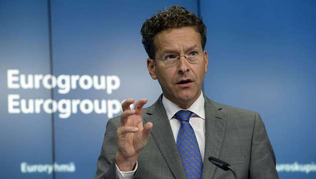 Eurogruppen-Chef Jeroen Dijsselbloem (Bild: AFP)