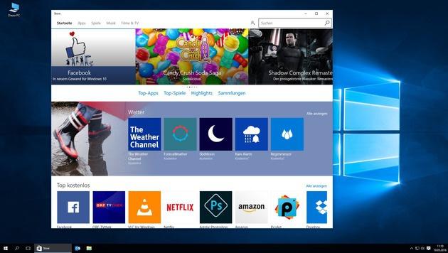 """""""Krone Sport""""-App jetzt auch für Windows 10 (Bild: Kronen Zeitung)"""