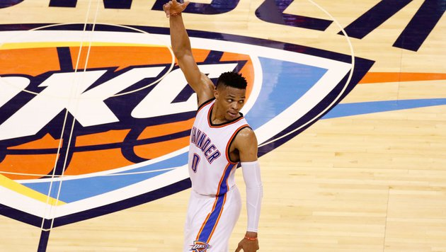 Russell Westbrook (Bild: APA/AFP/GETTY IMAGES/J Pat Carter)