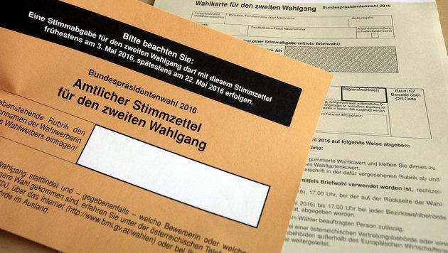 Nächste Panne: Salzburger erhielt zwei Wahlkarten (Bild: APA/GEORG HOCHMUTH)