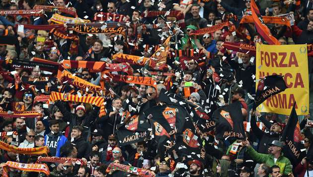 AS Roma Fans (Symbolbild) (Bild: AFP)