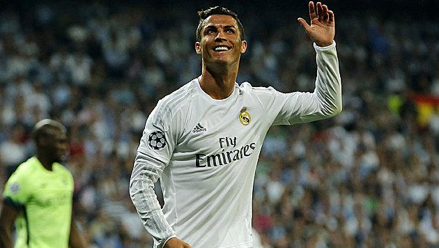 Ronaldo will seine Karriere bei Real beenden! (Bild: AP)