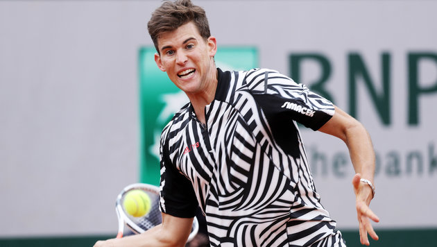 "Thiem: ""Zebra-Model"" erobert Mode-Mekka (Bild: GEPA)"