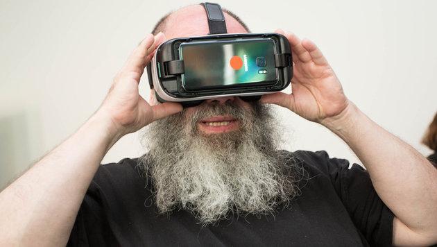 Virtual Reality lockt Urlauber nach Österreich (Bild: ÖW/Rainer Fehringer)