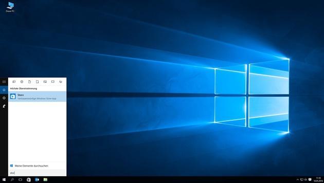 Windows Store aufrufen (Bild: Kronen Zeitung)