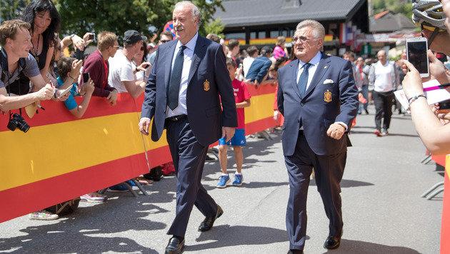 Spanien startete EM-Vorbereitung in Vorarlberg (Bild: APA/EXPA/JOHANN GRODER)