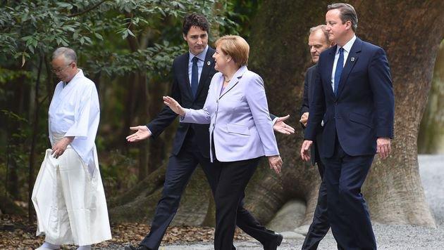 G7-Gipfel: EU fordert mehr Hilfe für Flüchtlinge (Bild: AFP)