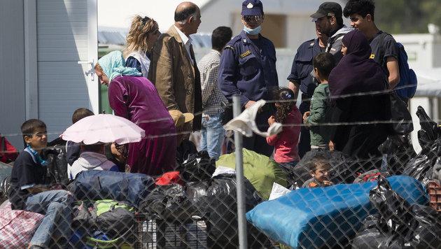 Flüchtlingslager in Idomeni (Bild: AP (Archivbild))