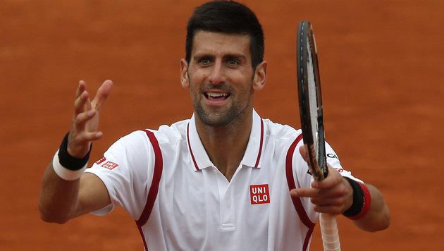 Novak Djokovic (Bild: AP)