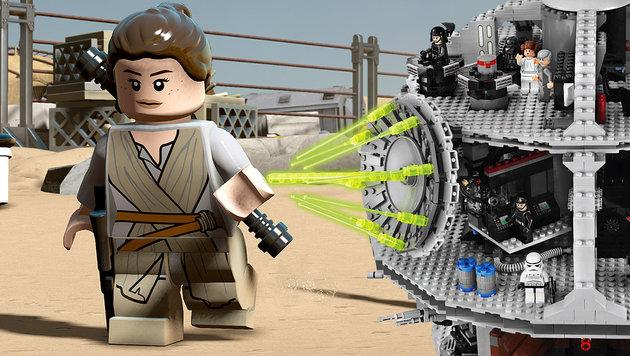 Ein Drittel tr�gt Waffen: Lego wird immer brutaler (Bild: Kronenzeitung, AP)