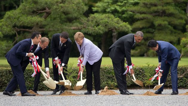 G-7-Gipfel in Japan (Bild: APA/AFP/POOL/CAROLYN KASTER)