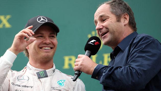 Nico Rosberg und Gerhard Berger (Bild: GEPA)