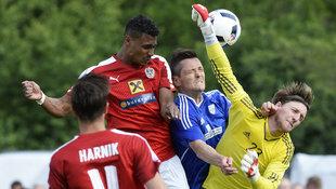 �FB-Elf netzt 14 Mal gegen Schweizer Amateure ein! (Bild: APA/ROBERT JAEGER)