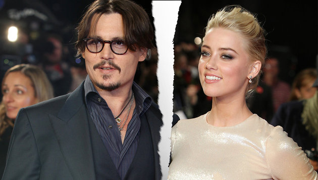 Scheidung! Depp & Heard streiten nur noch ums Geld (Bild: ASSOCIATED PRESS)