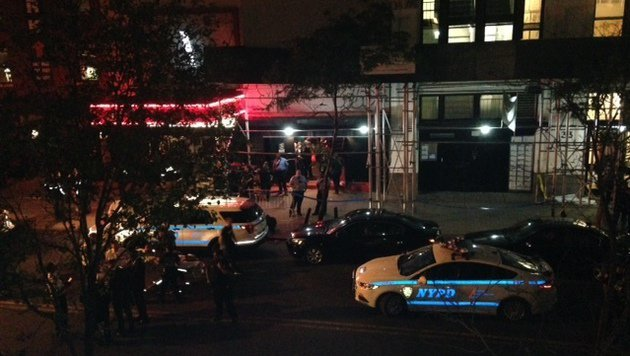 Schüsse bei Konzert in New York - ein Toter (Bild: AP)