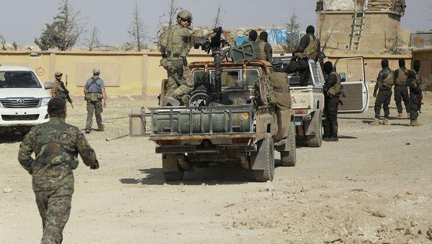 Kampf gegen IS: USA befürchten Engpass an Bomben (Bild: AFP)