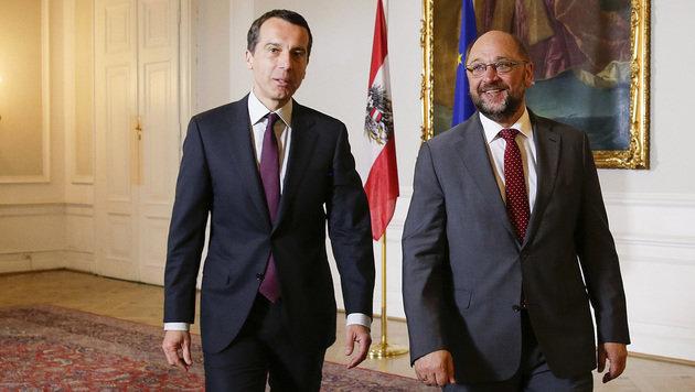 """Hofburg-Ergebnis """"Niederlage für Euro-Skeptiker"""" (Bild: APA/BKA/ANDY WENZEL)"""