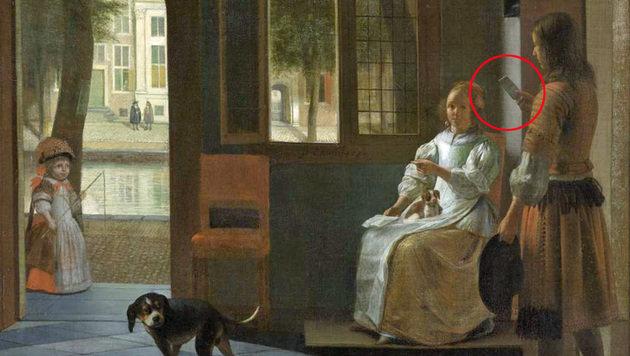 Tim Cook entdeckt iPhone auf 350 Jahre altem Bild (Bild: Rijksmuseum, Amsterdam)