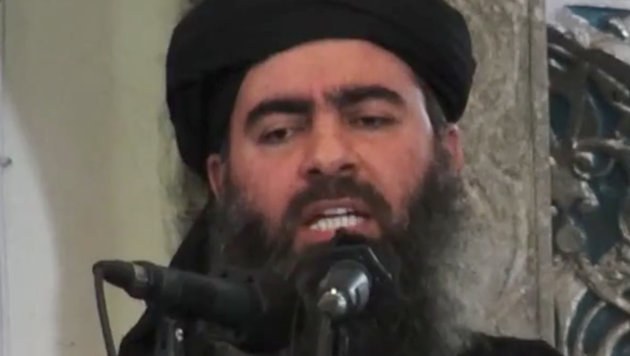 IS-Chef Abu Bakr al-Baghdadi (Bild: Associated Press)