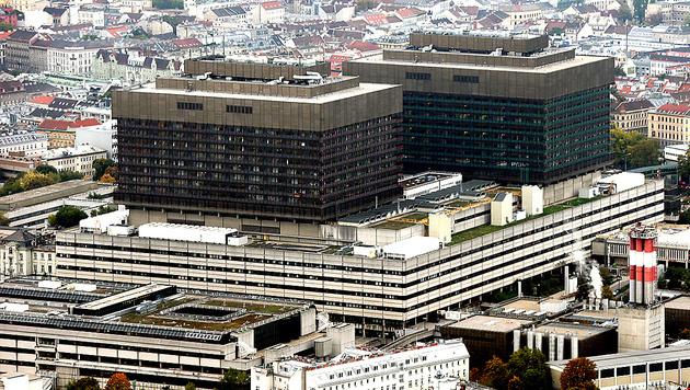 AKH Wien: Nur 32 Betten für 80 Krebspatienten (Bild: Klemens Groh)
