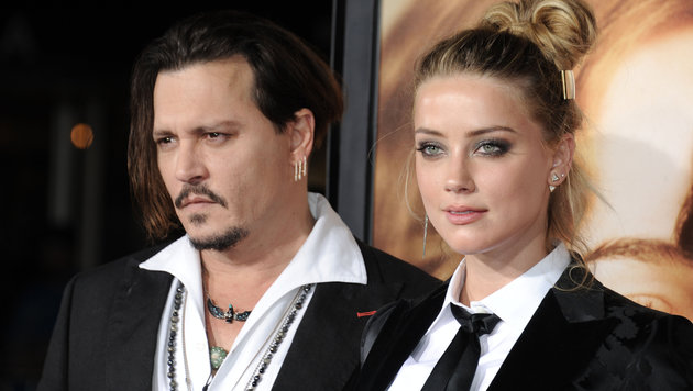 Amber Heard und Johnny Depp (Bild: Viennareport)