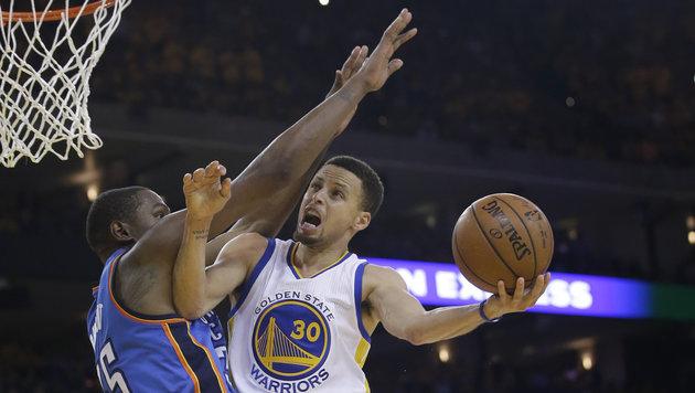 Golden State vermeidet dank Curry vorzeitiges Aus (Bild: AP)