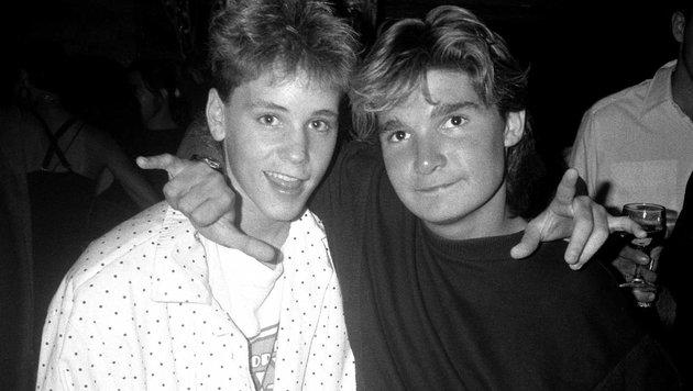 Corey Haim und Corey Feldman (Bild: Viennareport)