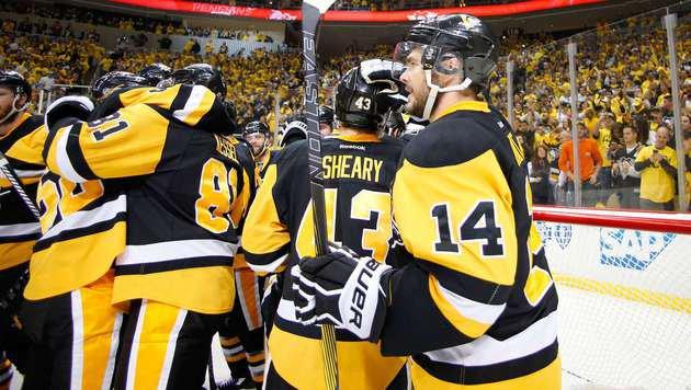Penguins erstmals seit 2009 im Stanley-Cup-Finale (Bild: APA/AFP/GETTY IMAGES/Justin K. Aller)