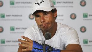 Rafael Nadal gibt wegen Handgelenksverletzung auf! (Bild: AP)