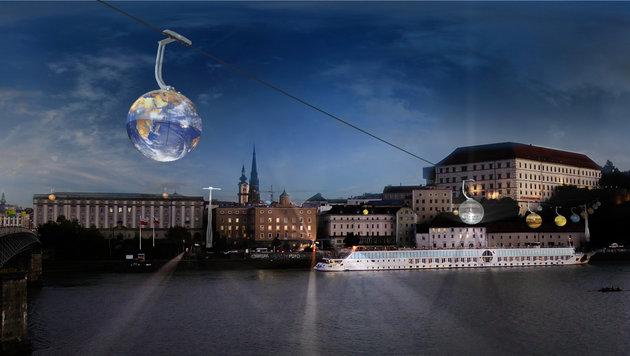 Der Verein will das Keplarium beim Schloss mit einer Seilbahn verknüpfen. (Bild: Gregor Hartmann 2016)