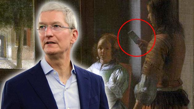 Tim Cook entdeckt iPhone auf 350 Jahre altem Bild (Bild: Rijksmuseum, Amsterdam, AFP PHOTO / TELANGANA GOVERNMENT)