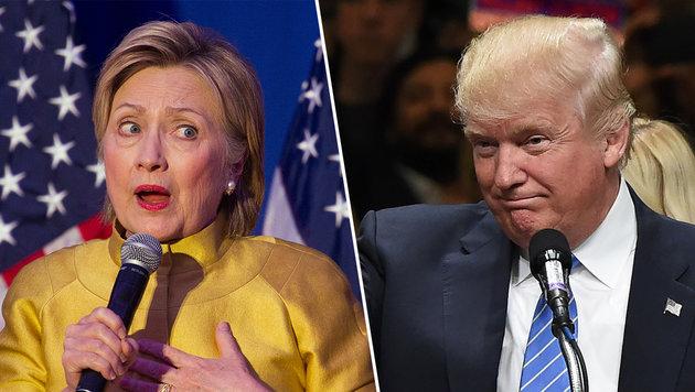 US-Wahl: Trump ist Kandidatur nicht mehr zu nehmen (Bild: AP, AFP)