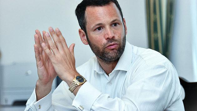 Roland H.s Anwalt Andreas Mauhart (Bild: Markus Wenzel)